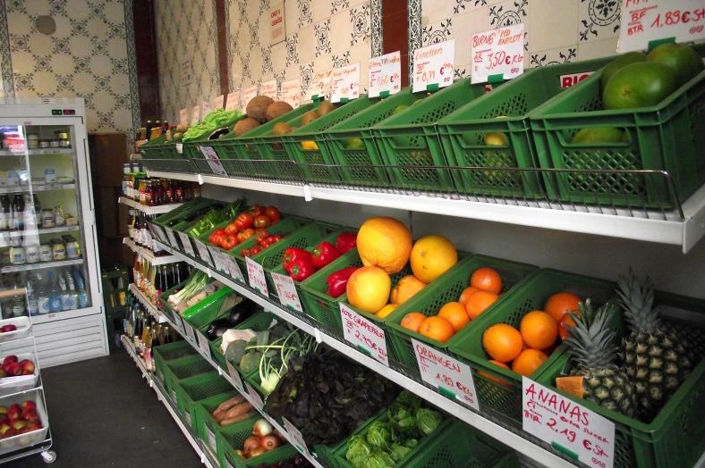 Obst und Gemüse kommt meistens unverpackt daher - hier natürlich erst recht!