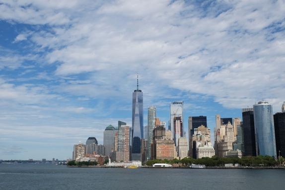 Skyline von Lower Manhattan (c) Lisamarie Haas