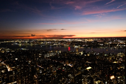 Sonnenuntergang vom Empire State Building (c) Lisamarie Haas